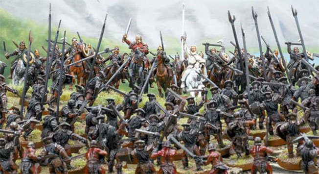 Lord Of The Rings Strategy Battle Figures